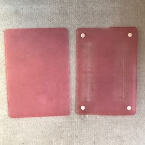 "Pink 13"" MacBook Pro cover"